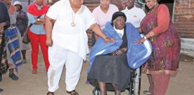 Hlasela builds house for sick granny