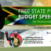 Free State Provincial Budget Speech