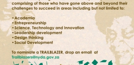 Youth Month 2018 South Africa Trailblazer