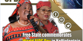 Free State Commemorates World Aids Day In Koffiefontein