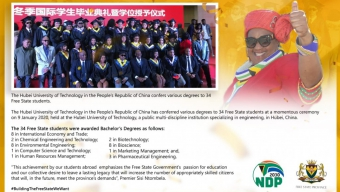 Students Graduate In China