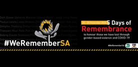 5 Day of Remembrance Message For All Members Of Public Service