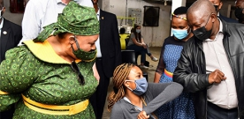 The Free State Provincial Government hosted a successful Vooma Vaccination Weekend Campaign this past weekend.