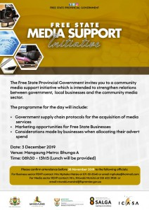 Invitation to the Media and Buiness engagement- Day 2
