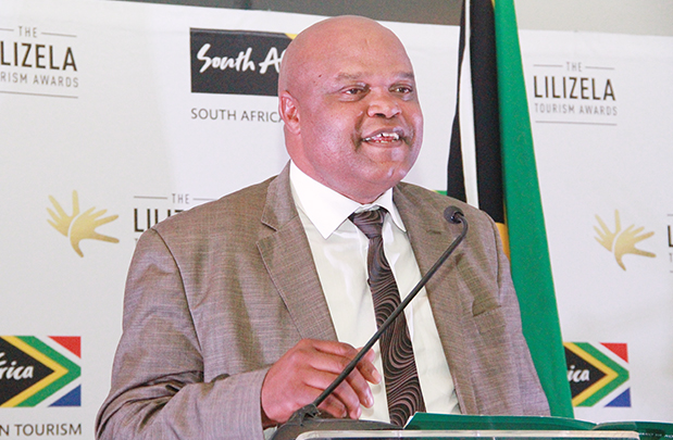 Reduce the bureaucracy … Small enterprise MEC Sam Mashinini who leads the government initiative to promote SMMEs